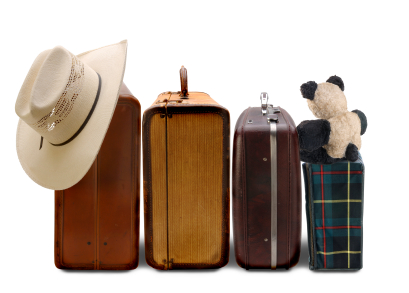 family-suitcases